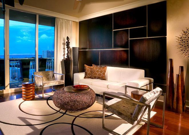 Contemporary Living Room by suzanne lawson design - interior design