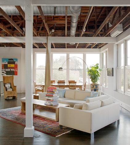 Industrial Living Room by Savannah Surfaces