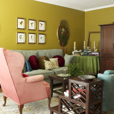 Eclectic Living Room by Story & Space - Interior Design and Color Guidance