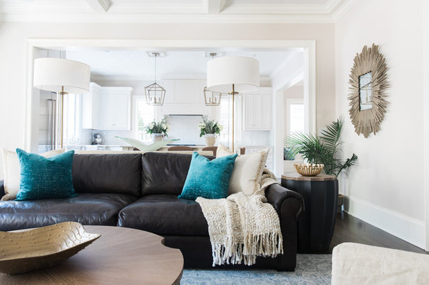 Beach Style Living Room by House of Nomad