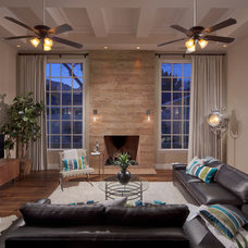 Traditional Living Room by Luster Custom Homes