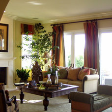Traditional Living Room by ADH Interiors