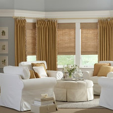 eclectic curtains by Lone Star Blinds