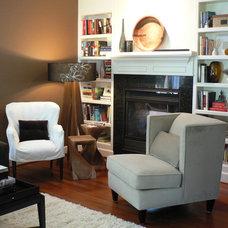 Contemporary Living Room by Pilar Calleja - Draw The Line Design