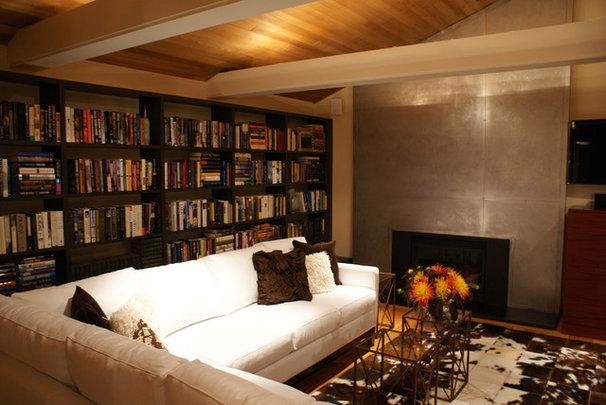 Modern Living Room by Pilar Calleja - Draw The Line Design