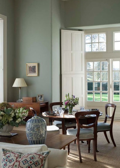 Duck egg blue the friendliest color around for Duck egg dining room ideas
