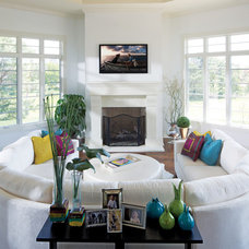 Contemporary Living Room by Savvy Decor