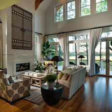 Traditional Living Room by Lumber Liquidators