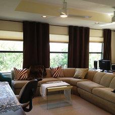 Contemporary Living Room Dream Retirement Home