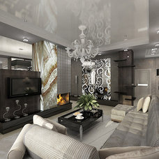 Contemporary Living Room by S&A Decor