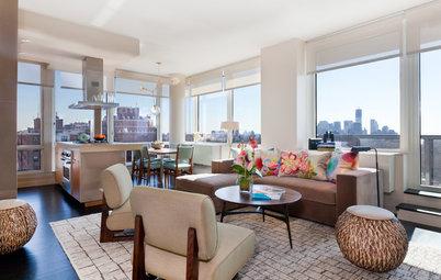 Houzz Tour: World-Class View in Manhattan Condo