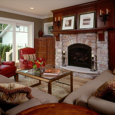 Tyler Taupe Living Room Design Ideas Pictures Remodel
