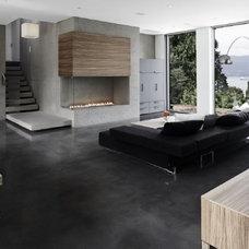 Living Room by Gaile Guevara