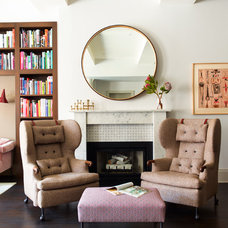 Transitional Living Room by Damon Liss Design