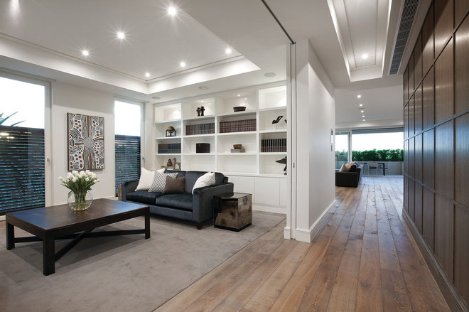 Modern Living Room by DuChateau Floors