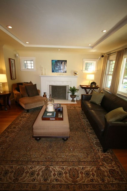 Traditional Living Room Duggan residence