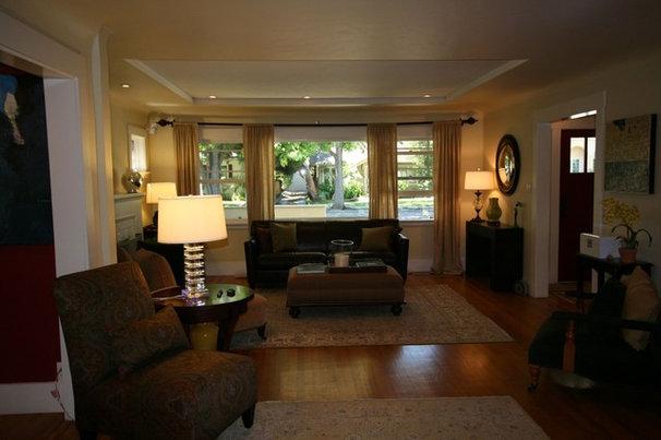 Craftsman Living Room Duggan residence