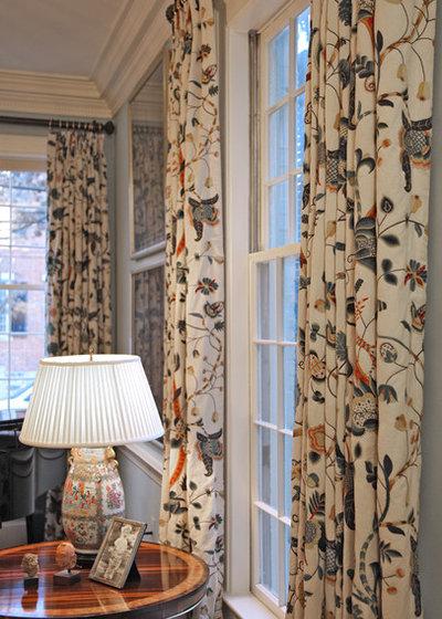 Victorian Living Room by Dennison and Dampier Interior Design