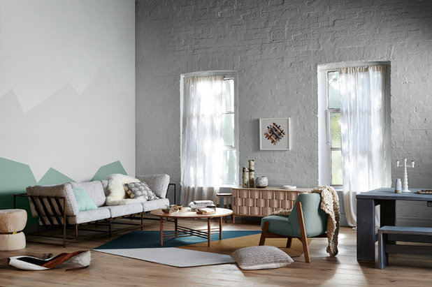 Guida houzz tutto su pitture ed effetti d cor per pareti interne - App per colorare pareti casa ...