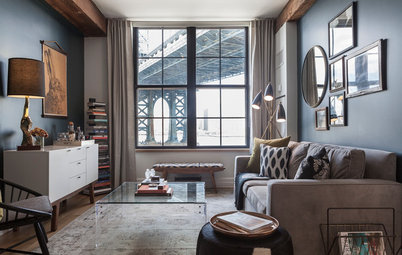 Room of the Day: A Piece of Manhattan Inspires a Brooklyn Apartment