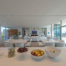Modern Living Room by JKRC- Jason Klinge Residential Contracting