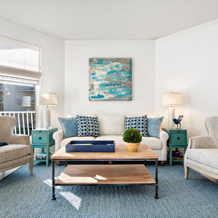 75 Beautiful Coastal Living Room Pictures Ideas Houzz