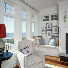 Beach Style Living Room by Sylco Cabinetry