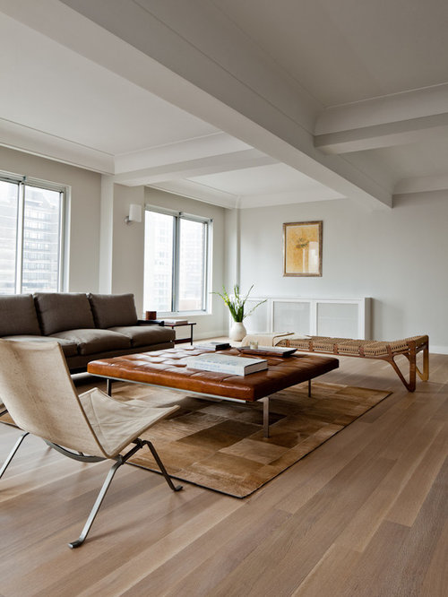 houzz living rooms with hardwood floors white oak wood floor home design ideas pictures remodel