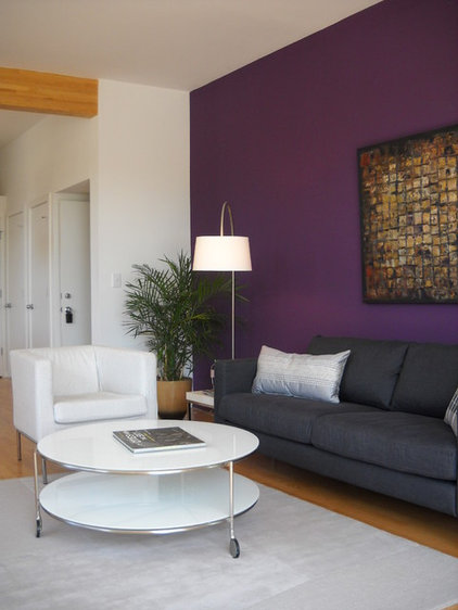 Contemporary Living Room by nBaxter Design
