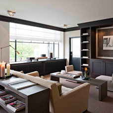 Contemporary Living Room by Leicht Westchester Kitchens
