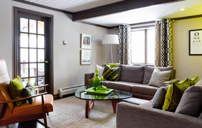 Curtains, Please: See Our Contest Winner's Finished Dream Living Room