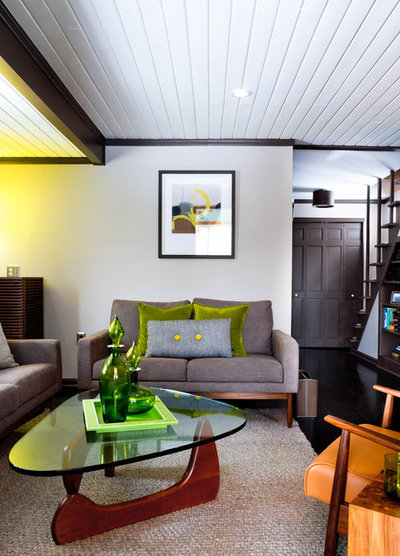 Midcentury Living Room by Rikki Snyder