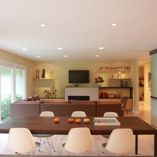 Contemporary Living Room by DWYER DESIGN
