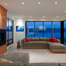 Contemporary Living Room by Dyna Contracting