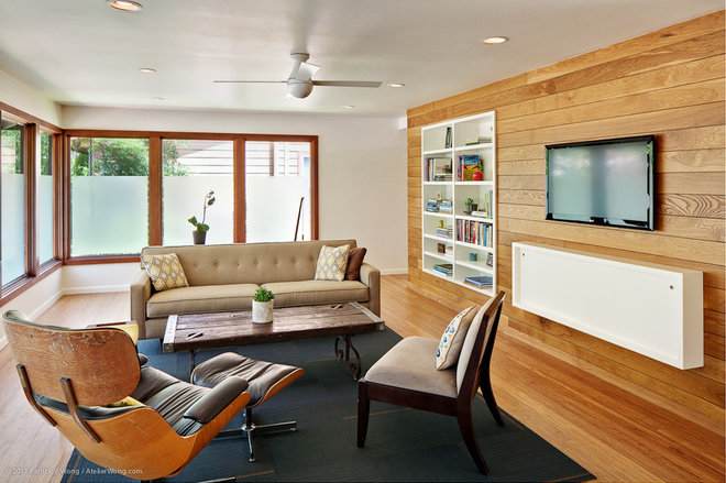 Contemporary Living Room by Stuart Sampley Architect