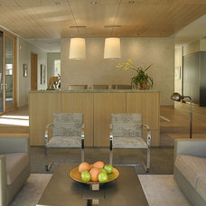 Contemporary Living Room by E CUMMINGS ARCHITECT PC