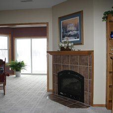 Traditional Living Room by Kitchen Fair