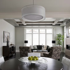 Eclectic Living Room by Your Designer