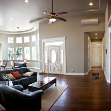 Traditional Living Room by Tristin Godsey Photography