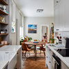 Houzz Tour: A Small City Flat With a Cosy Midcentury Vibe
