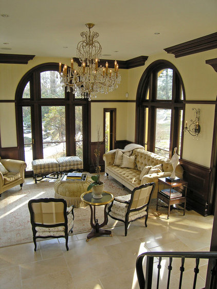 Mediterranean Living Room by Fivecat Studio | Architecture