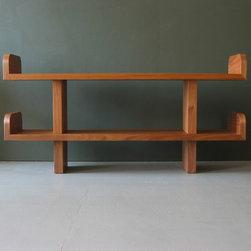 Ease Shelves - Walnut - Jason Lees Design