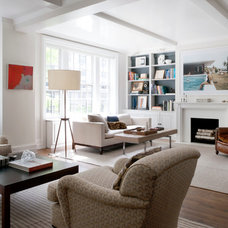Transitional Living Room by Katie Lydon Interiors