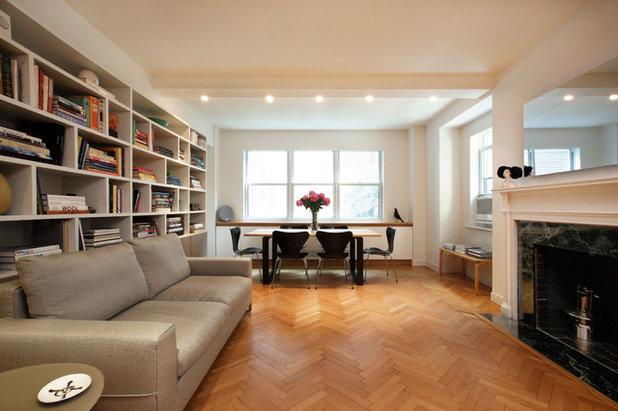 Minimalistisch Wohnbereich By Luca Andrisani Architect