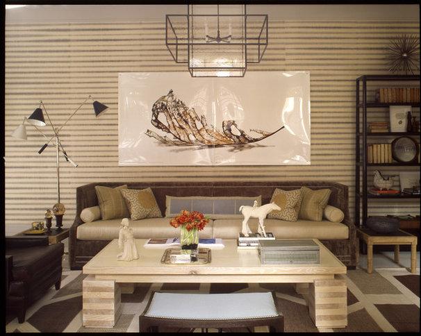 Modern Living Room by Thom Filicia Inc.