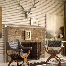 Modern Living Room by Thom Filicia Inc.