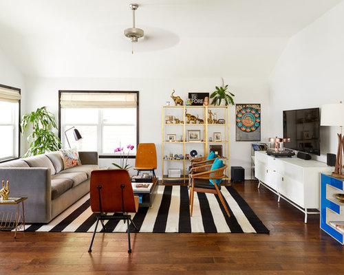 Outstanding Eclectic Living Room Design Ideas Remodels Photos Houzz Inspirational Interior Design Netriciaus