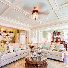 Traditional Living Room by Stephen Alexander Homes & Neighborhoods
