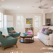 Eclectic Living Room by Margaret Donaldson Interiors