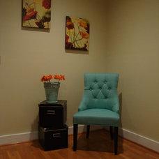 Contemporary Living Room by Amanda Alligood